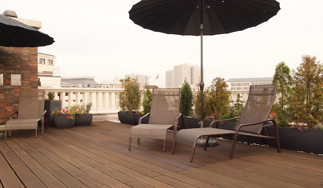 luxury penthouse with roof terrace top lage gendarmenmarkt mitte at home. Black Bedroom Furniture Sets. Home Design Ideas